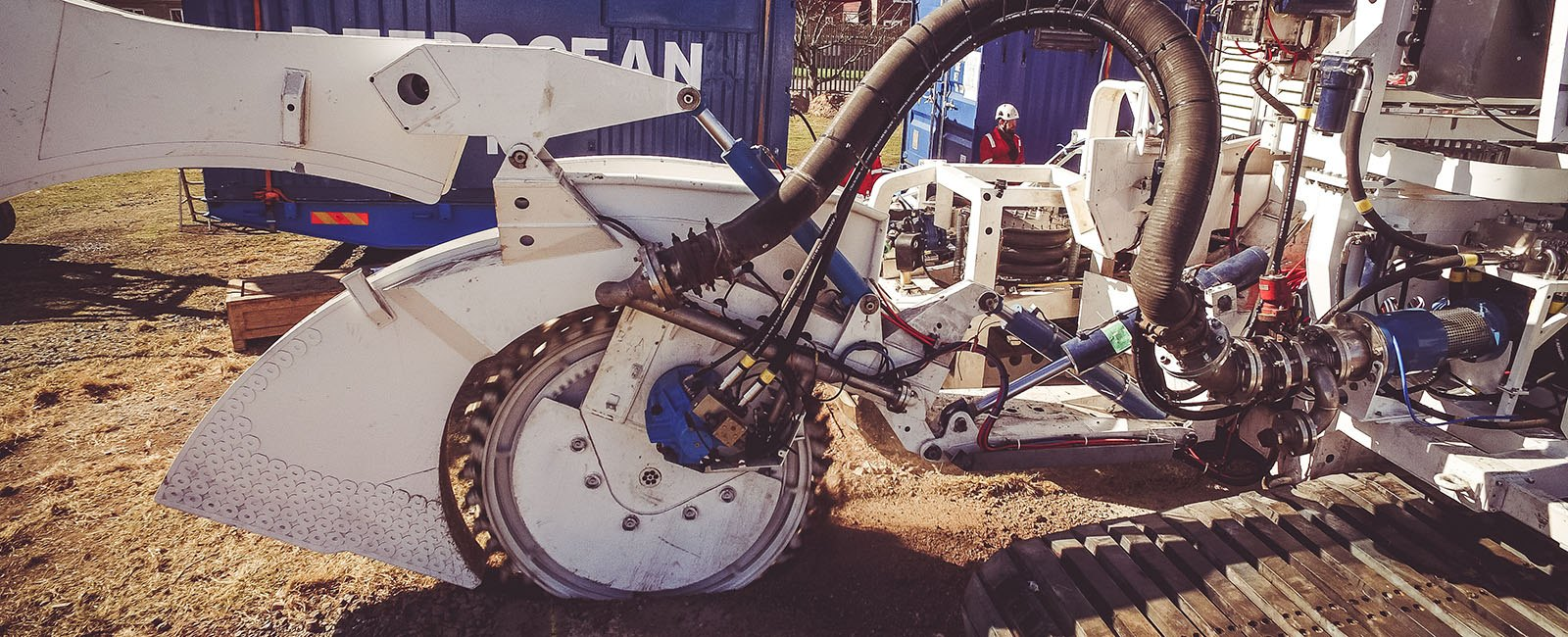 Subsea trenching testing