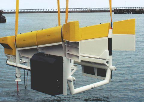 Modus AUV floating garage