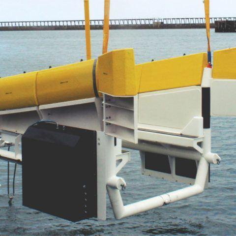 Modus AUV floating garage